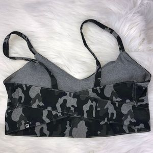 Fabletics Other - Fabletics Camo Sports Bra Size S/M